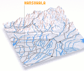 3d view of Hansowāla