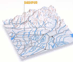 3d view of Dādipur