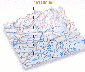 3d view of Fattu Chak