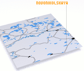 3d view of Novonikol\