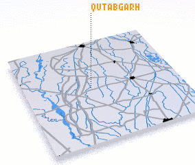 3d view of Qutabgarh