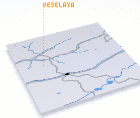 3d view of Vesëlaya