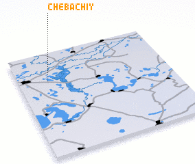 3d view of Chebachiy