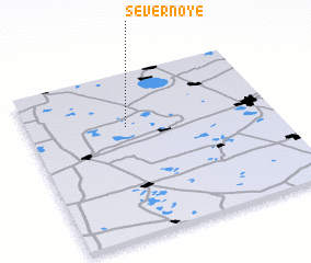 3d view of Severnoye