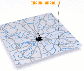 3d view of Chaudharpalli