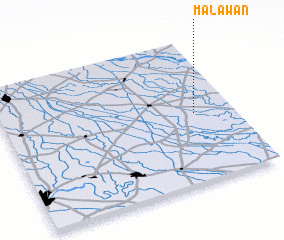 3d view of Malāwān
