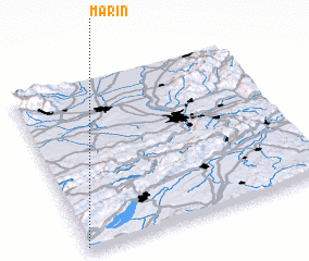 3d view of Marin