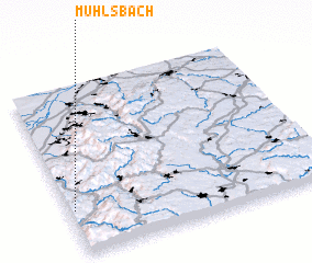 3d view of Mühlsbach