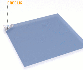 3d view of Oneglia