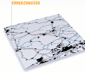 3d view of Emmerzhausen