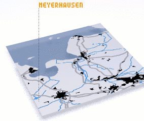 3d view of Meyerhausen