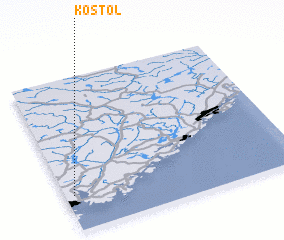 3d view of Kostøl