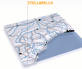 3d view of Stellanello