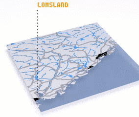 3d view of Lømsland