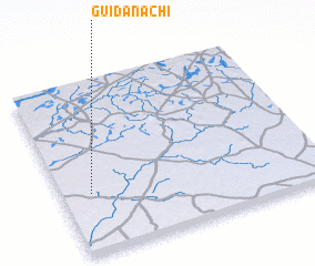 3d view of Guidan Achi