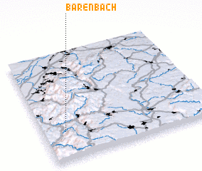 3d view of Bärenbach