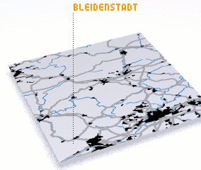 3d view of Bleidenstadt