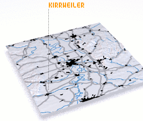 3d view of Kirrweiler