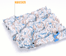 3d view of Hausen