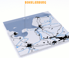 3d view of Bokelerburg