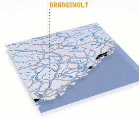 3d view of Drangsholt