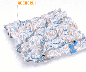 3d view of Aecherli