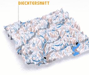 3d view of Diechtersmatt