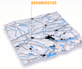 3d view of Beromünster