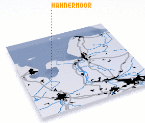 3d view of Hahnermoor