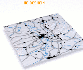 3d view of Heidesheim