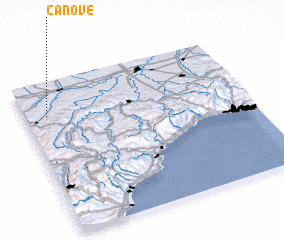 3d view of Canove