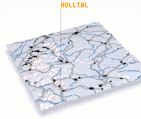 3d view of Hölltal