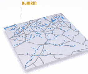 3d view of Djibrin