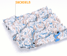 3d view of Sachseln