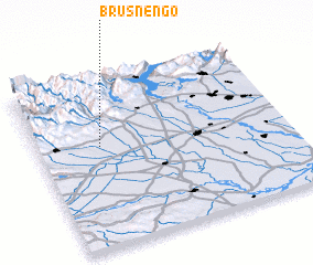 3d view of Brusnengo