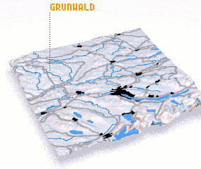 3d view of Grünwald