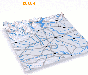 3d view of Rocca