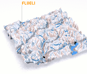 3d view of Flüeli
