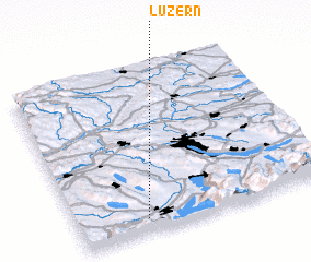 3d view of Luzern