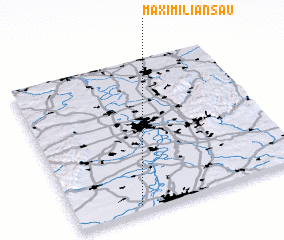 3d view of Maximiliansau