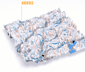 3d view of Kerns