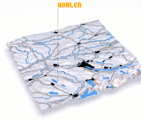 3d view of Wohlen