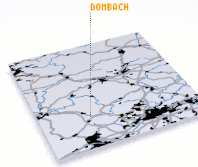 3d view of Dombach