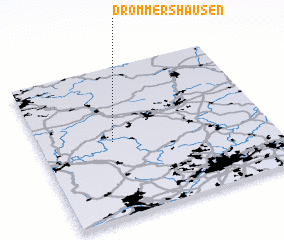 3d view of Drommershausen