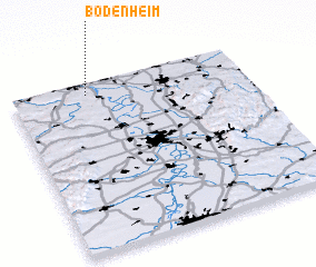 3d view of Bodenheim