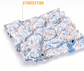 3d view of Stansstad