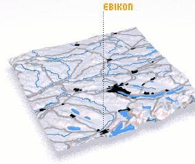 3d view of Ebikon
