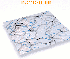 3d view of Waldprechtsweier