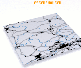 3d view of Essershausen