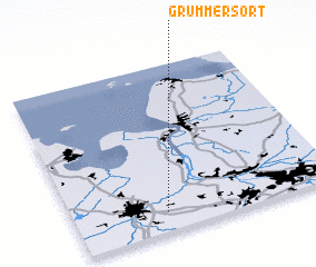 3d view of Grummersort